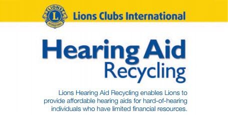 Hearing Aid Recycling