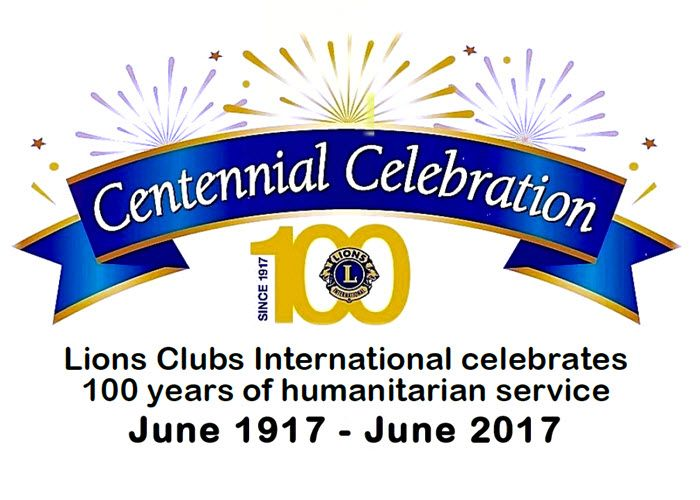 Lions Club 100 Years
