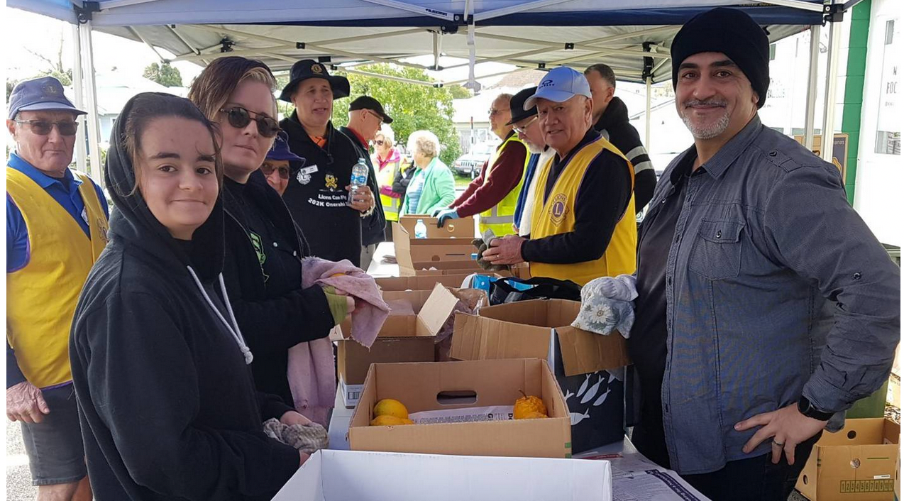 Whangarei Lions' Clubs Citrus for the South campaign