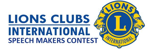 Lions Clubs Speechmaker Contest